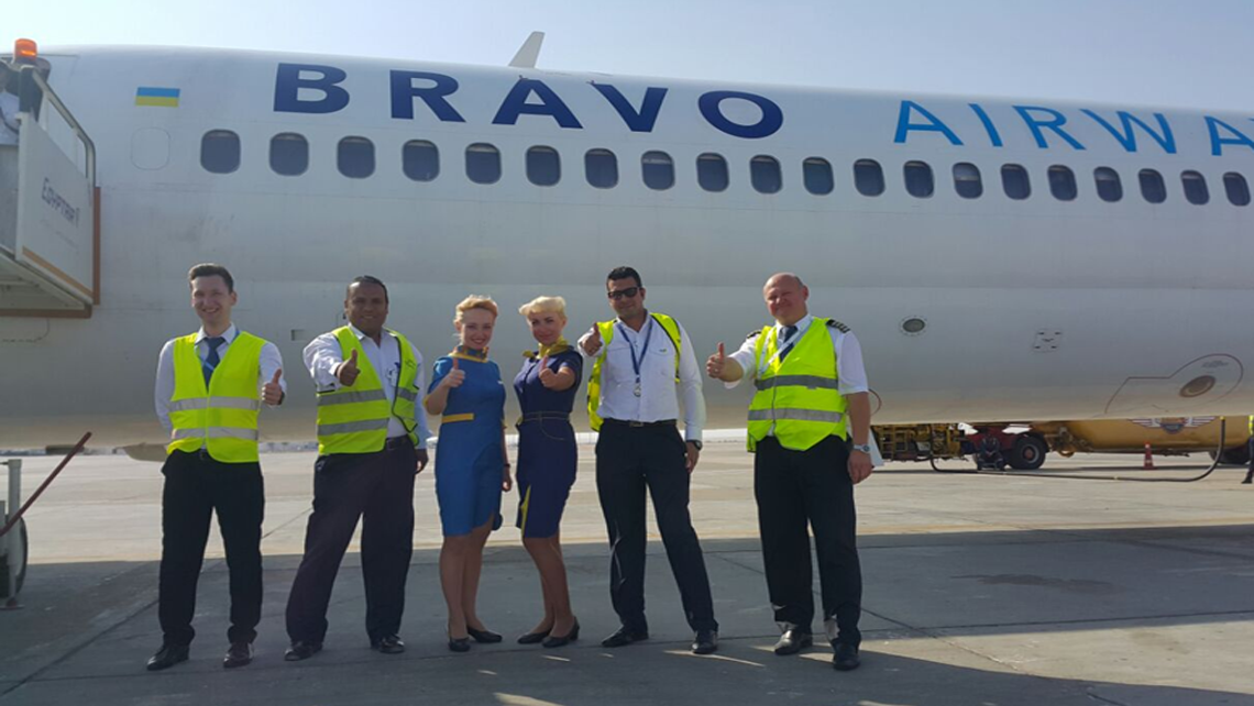 Bravo Airways Commencement Flight